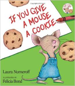 if you give mouse a cookie